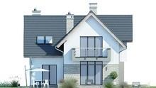 Двухэтажный дом с просторными спальнями и кухней-студией