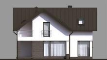Изящный двухэтажный особняк с стильным декором
