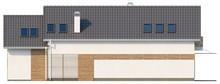 Коттедж с эркером и мансардой - проект для узкого участка