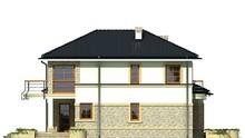 Эксклюзивный коттедж с полукруглыми балконами