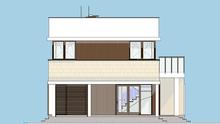 Загородный коттедж в стиле минимализма с декором из дерева и ракушника общей площадью 168 кв. м, жилой 69 кв. м