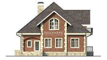 Схема трехэтажного дома площадью 290 кв. м