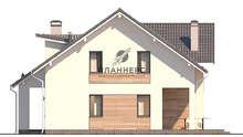 План дома площадью 156 кв. м с двумя гостиными