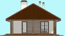Уютный дом для дачной застройки