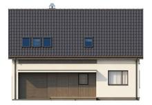 Загородный дом со встроенным гаражом