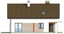 Экономный проект дома с мансардой