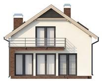 Проект комфортабельного дома со встроенным гаражом