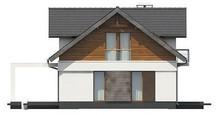 Проект традиционного особняка с удобными балконами
