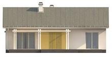 Проект красивого элегантного одноэтажного дома