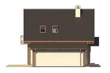 Обаятельный проект экологичного загородного коттеджа с гаражом