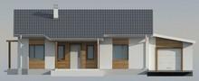Проект небольшого дачного дома в традиционном стиле