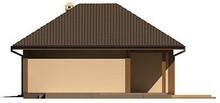 Проект стильного 1-этажного дома с гаражом