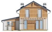 Проект двухэтажного просторного дома в традиционном стиле
