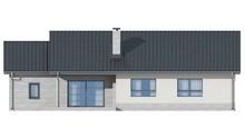 Проект одноэтажного коттеджа в английском стиле с гаражом