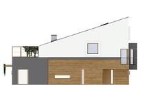 Стильный проект дома на две семьи