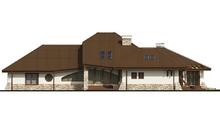 Проект комфортабельного особняка с гаражом на два автомобиля