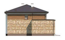 Проект большого двухэтажного дома со встроенной баней