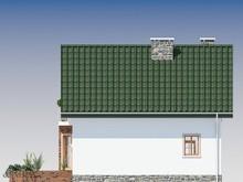 Миниатюрный загородный коттедж с сауной