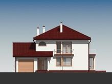 Стильный проект особняка с большими окнами