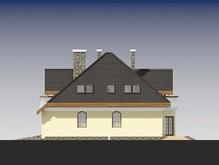 Просторный коттедж с тремя балконами и гаражом