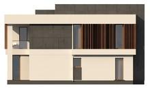 Проект красивого двухэтажного коттеджа с плоской крышей