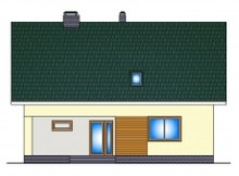 Мансардный коттедж с дополнительной спальней на 1-ом этаже