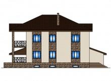Классический загородный особняк с просторными террасами