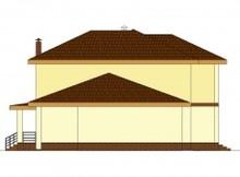 Интересный практичный дом с сауной