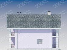 Архитектурный проект двухэтажного дома 12 на 12