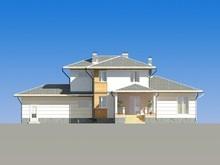 Проект симпатичного жилого коттеджа 300 m²