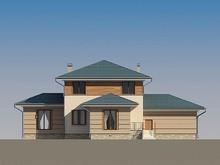 Удобно спланированный загородный дом 220 m² с террасой