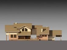 Архитектурный проект огромного загородного коттеджа