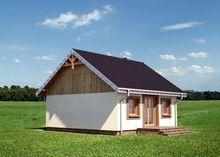 Оригинальный загородный коттедж с маленькими помещениями