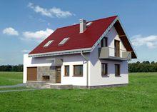 Архитектурный проект стильной усадьбочки площадью 140 m²
