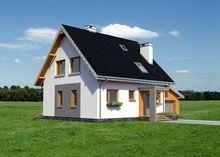 Красивый загородный особняк с площадью 150 m²