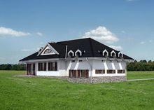 Интересный дом с дизайном в средиземноморском стиле