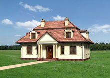 Стильный особняк, выполненный в классическом стиле