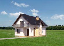 Красивый загородный дом с роскошной гостиной