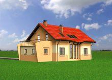 Проект строительства уютного мансардного особнячка 170 m²