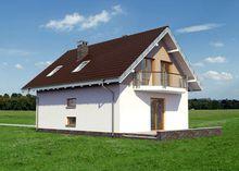 Проект просторного дома с четырьмя спальнями