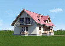 Красивый загородный дом с шестью просторными комнатами