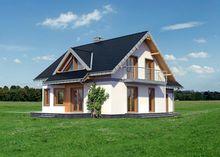 Большой и стильный дом с гаражом и террасой