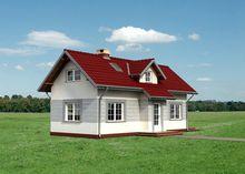 Маленькая загородная усадьба с просторными спальнями и гостиной
