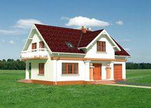 Загородная усадьба площадью 180 m² с гаражом
