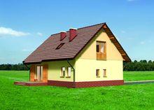 Проект оригинального мансардного дома до 150 m²