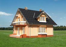Особняк классического стиля оформления с шестью спальня