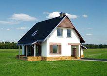 Проект небольшого красивого дома для дружной семьи