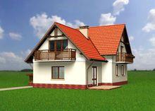 Красочное строение для большой дружной семьи