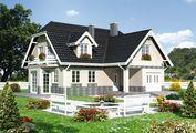 Уютный дом с пятью спальнями и гаражом для автомобиля