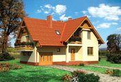 Чертеж шикарного особняка площадью 248 кв. м с четырьмя спальнями